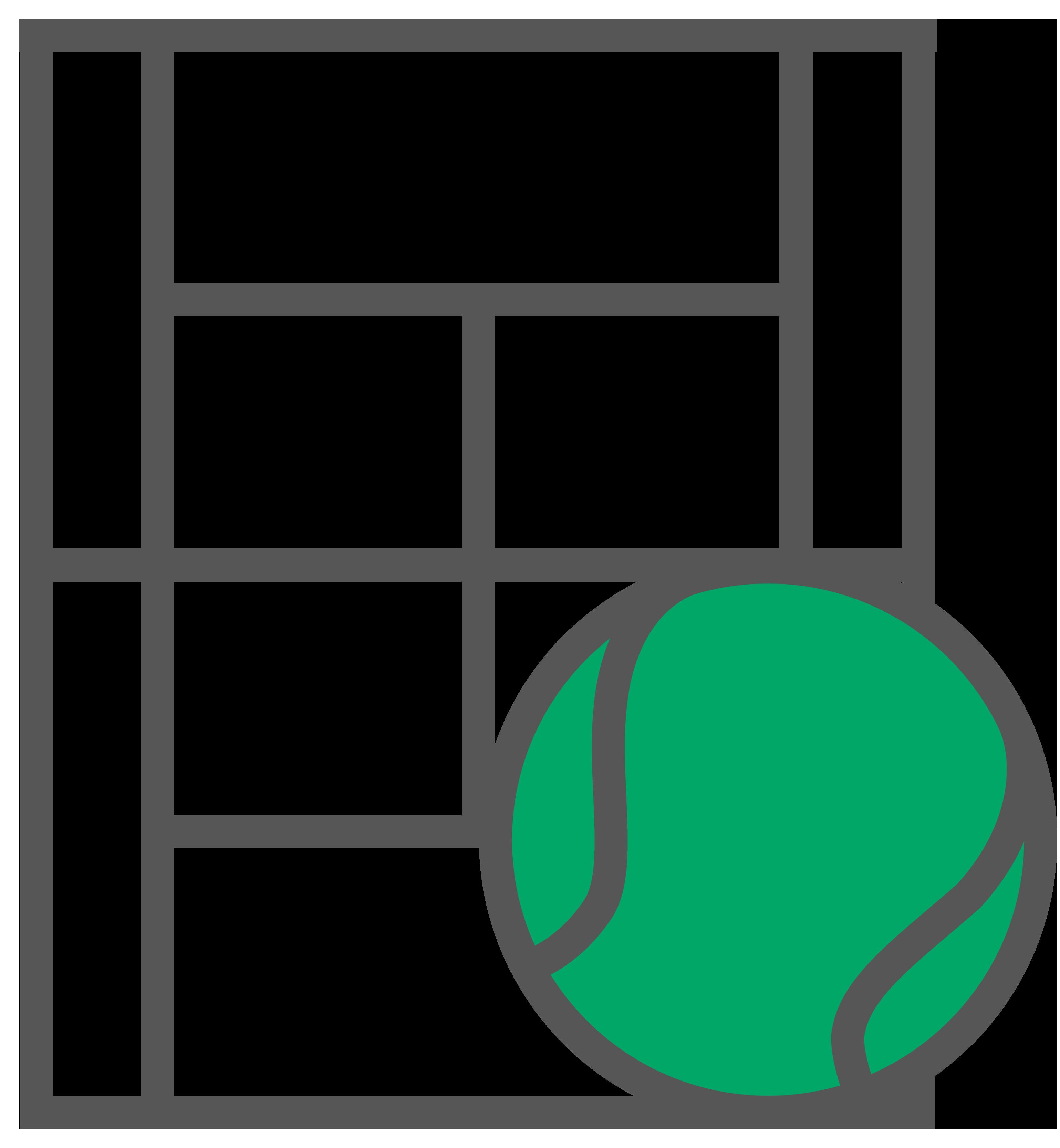 Icon for choosing tennis lesson location